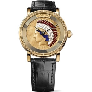 Corum Artisans Indian Coin Watch Gold C082/02355