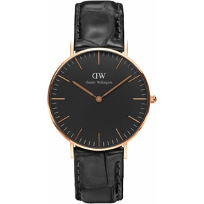 Daniel Wellington Classic Black Reading Lady Ø 36mm