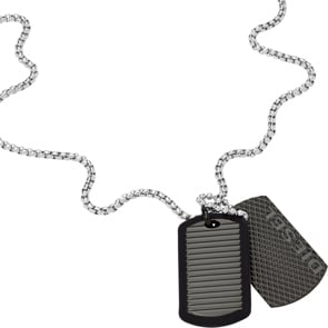 Diesel Kette Double Dog-Tags
