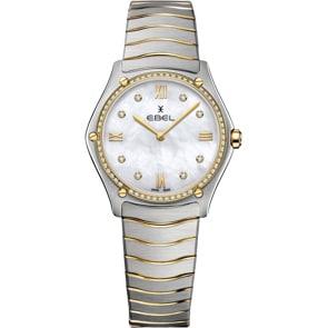 Ebel Sport Classic Lady Diamonds Bicolor / Perlmutt 33mm