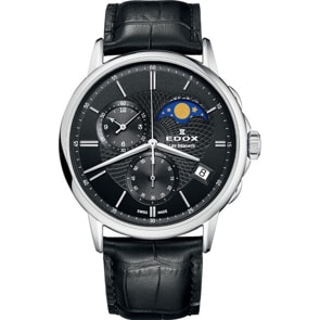 Edox Les Bémonts Chronograph Moonphase