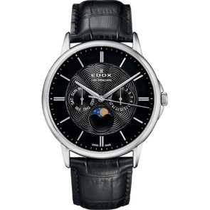 Edox Les Bémonts Moonphase