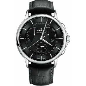 Edox Les Bémonts Perpetual Calender