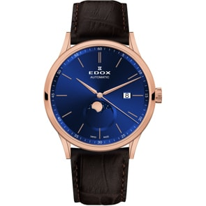 Edox Les Vauberts Automatic Moonphase