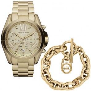 Exklusiv: Michael Kors Bradshaw Chronograph mit Michael Kors Armband MK Heritage
