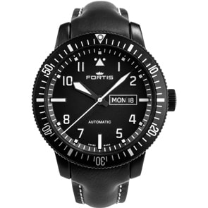 Fortis Aeromaster Mission Timer Day-Date
