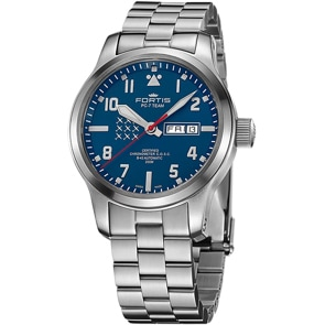Fortis Aeromaster PC-7 Edition Day-Date COSC