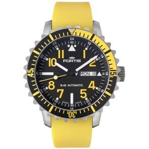 Fortis Marinemaster Yellow Day-Date