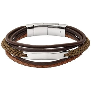Fossil Armband Mens Vintage Casual