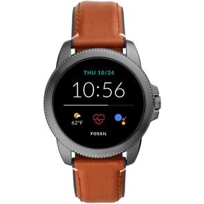 Fossil Classics Gen 5E Smartwatch HR Braun