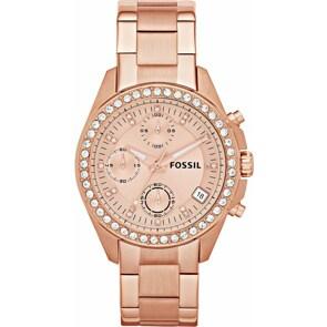 Fossil Decker Chronograph Rosé