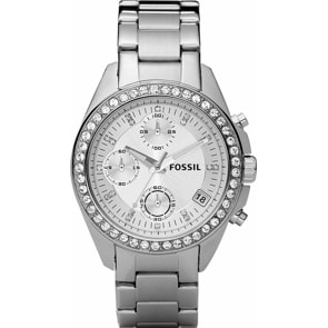 Fossil Decker Chronograph Silver
