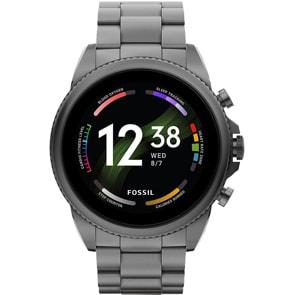 Fossil Gen 6 Smartwatch HR Grau 44