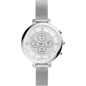 Fossil Monroe Hybrid Smartwatch HR Edelstahl