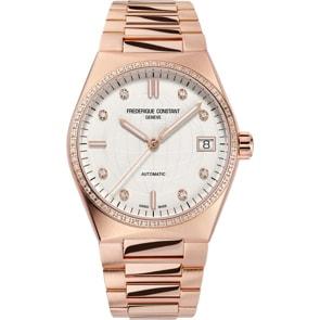 Frédérique Constant Highlife Ladies Automatic Diamonds Rosé