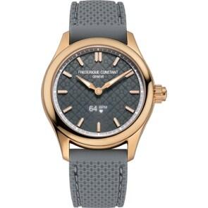 Frédérique Constant Vitality Smartwatch Ladies Rosé / Grau