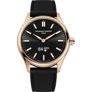 Frédérique Constant Vitality Smartwatch Rosé / Schwarz