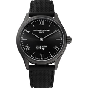 Frédérique Constant Vitality Smartwatch Schwarz
