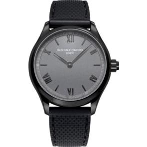 Frédérique Constant Vitality Smartwatch Schwarz / Grau