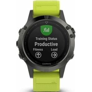 Garmin Fenix 5 GPS-Smartwatch mit Herzfrequenzmesser
