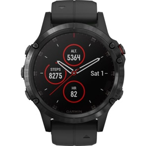 Garmin Fenix 5 Plus Saphir GPS-Multisport Smartwatch HR