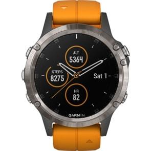 Garmin Fenix 5 Plus Saphir GPS-Multisport Smartwatch HR