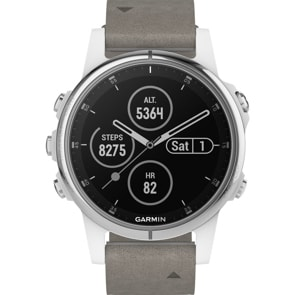 Garmin Fenix 5S Plus Saphir GPS-Multisport Smartwatch HR
