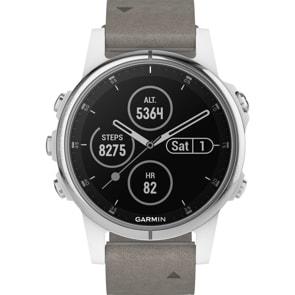 Garmin Fenix 5S Plus Saphir GPS-Multisport Smartwatch HR