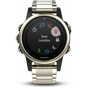 Garmin Fenix 5S Saphir GPS-Smartwatch HR