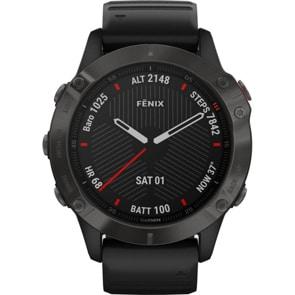 Garmin Fenix 6 Pro Sapphire Schwarz/Schiefergrau DLC