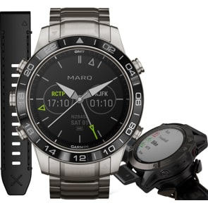 Garmin Marq Aviator GPS Tool Watch HR Promo Bundle