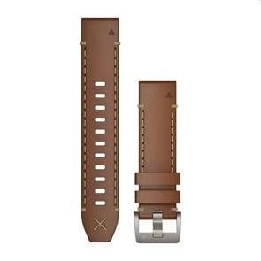Garmin QuickFit Armband Vachetteleder Braun 22mm