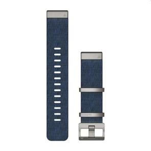 Garmin QuickFit Nylon-Armband mit Jacquardwebung – Indigo 22mm