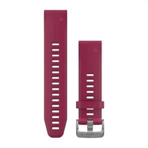 Garmin QuickFit Silikonarmband Kirschrot 20mm