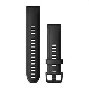 Garmin QuickFit Silikonarmband Schwarz 20mm