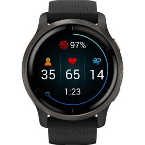 Garmin Venu 2 Smartwatch Schwarz