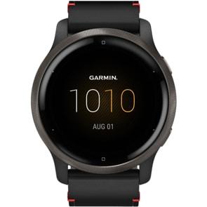 Garmin Venu 2 Smartwatch Leder schwarz