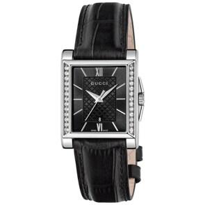 Gucci G-Timeless Lady Rectangular Diamonds