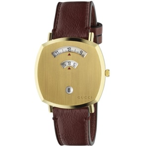 Gucci Grip 38mm Gold / Brown
