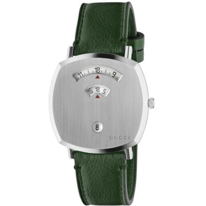 Gucci Grip 38mm Silver / Green