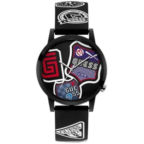 Guess Originals Letterman Schwarz