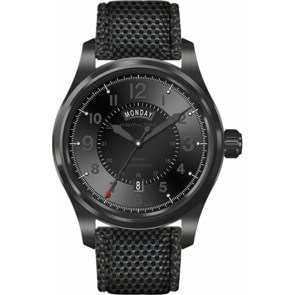 Hamilton Khaki Field Full Black Day-Date