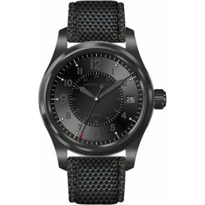 Hamilton Khaki Field Full Black Quartz