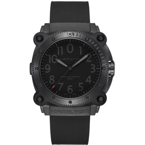 Hamilton Khaki Navy BeLOWZERO Auto Red Limited Edition