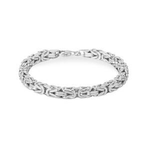 Königsarmband klassisch 925 Silber 4.5mm