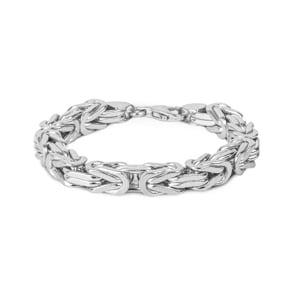 Königsarmband klassisch 925 Silber 8.0mm