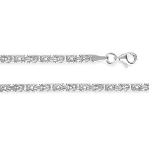 Königskette klassisch 925 Silber 3.0mm