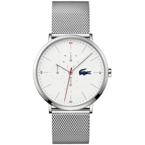 Lacoste Moon Day Date Silber