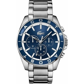 Lacoste Westport Chronograph Silber