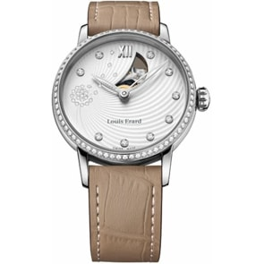 Louis Erard Emotion round Diamonds